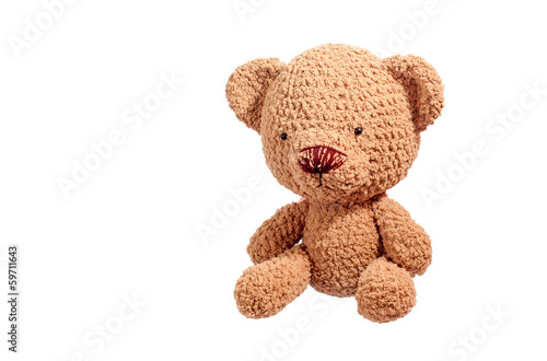 brown bear doll