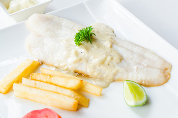 Pangasius steak