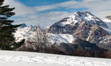 Mountains on winter in Spain, Canfranc