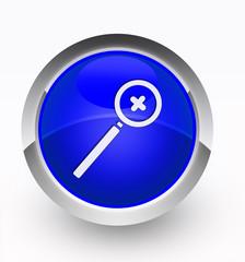 Knopf blau Lupe Plus