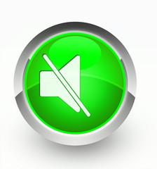 Knopf grün Lautlos
