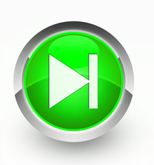 Knopf grün nachfolgen