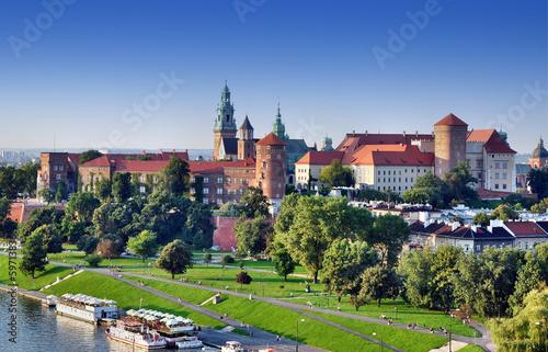 fototapeta na ścianę Zamek Królewski na Wawelu w Krakowie, Polska
