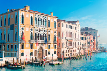 Canal Grande on a clear day