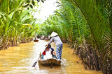 A famous tourist destination is  Ben Tre village  in Mekong delt