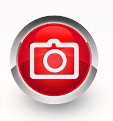 Knopf rot Camera