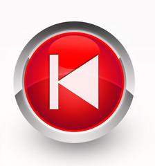 Knopf rot vorhergehend