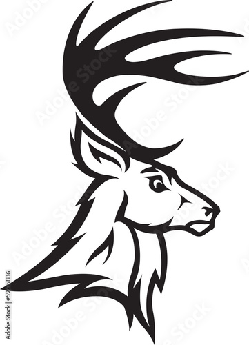 Deer Head Profile