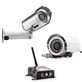 Collections of wireless surveillance camera with receiver