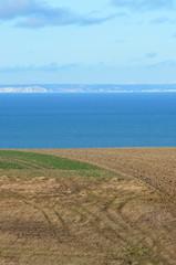 vue sur les falaises anglaises