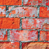 Dark red brick wall texture macro closeup, old detailed rough