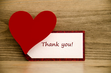 Thank you, Danke sagen