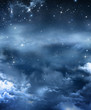 beautiful background, nightly sky