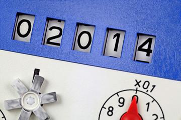 meter reading 2014