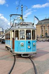 Historische Straßenbahn in Göteborg