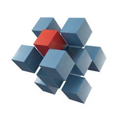 Struktur - isoliert - 3D Render