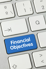 Financial objectives. Clavier