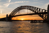 Sydney harbour bridge sunset - 59726035