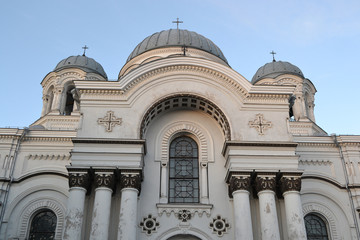 St. Michael the Archangel church in Kaunas.