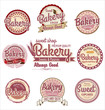 Retro Bakery Badges And Labels