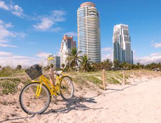 Scenic view at South Beach,Miami