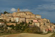 Spinetoli, medieval village in Marche region, Italy