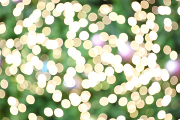 Abstract golden and green background.