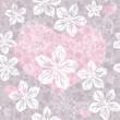 Seamless gentle valentine pattern