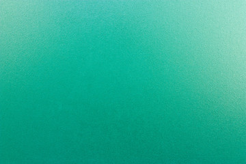 Turquoise frosted glass texture