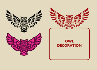 Owl Decorative Ornament