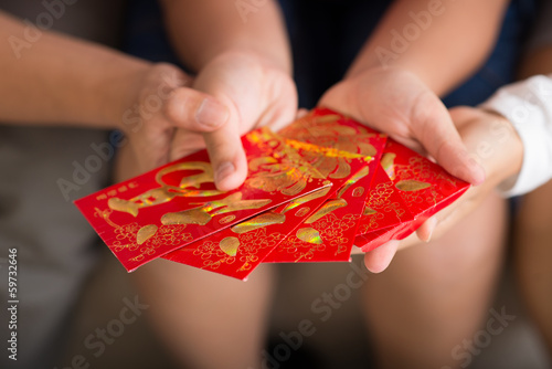 Envelopes of luck and prosperity
