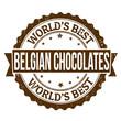 Belgian Chocolates scone stamp