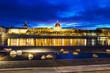 Lyon by blue hour