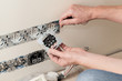 Power socket installing