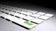 Buy on white keyboard