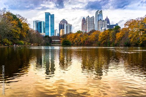Leinwanddruck Bild Atlanta, Georgia, USA