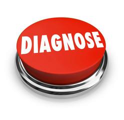 Diagnose Button Treat Identify Problem Disease Help Solve Diagno