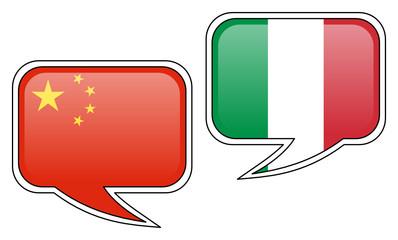 Chinese-Italian Conversation