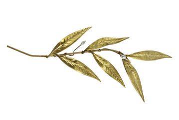 golden olive twig