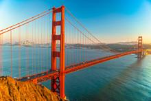 "Постер, картина, фотообои ""Golden Gate, San Francisco, California, USA."""