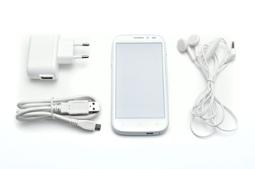 Smartphone set with accessories