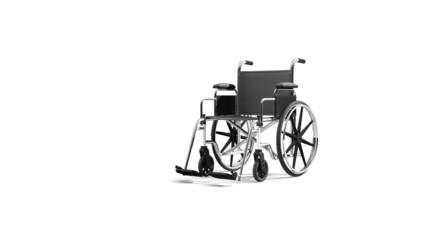 wheelchair animation approacinhg camera alpha