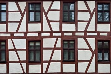 Fachwerkhaus Fassade in Nürnberg