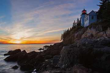 New England Lighthouse, The Bass Harbor Head Light