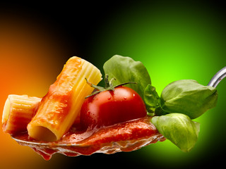 pasta basilico e pomodoro