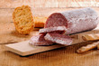 seasoned salami and grissini
