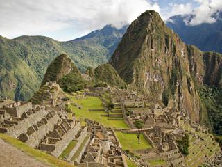 Famous Inca city Machu Picchu