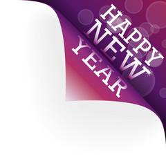 Happy New Year Ecke