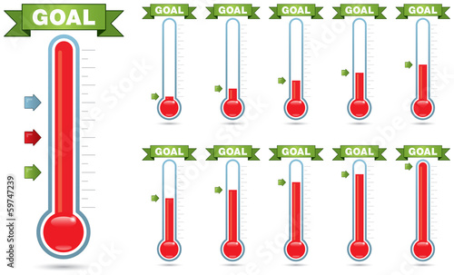 Goal Thermometer - 59747239