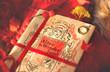 Постер, плакат: натюрморт с книгой в красных тонах
